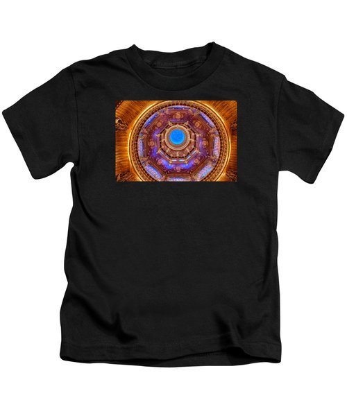 Temple Ceiling Kids T-Shirt
