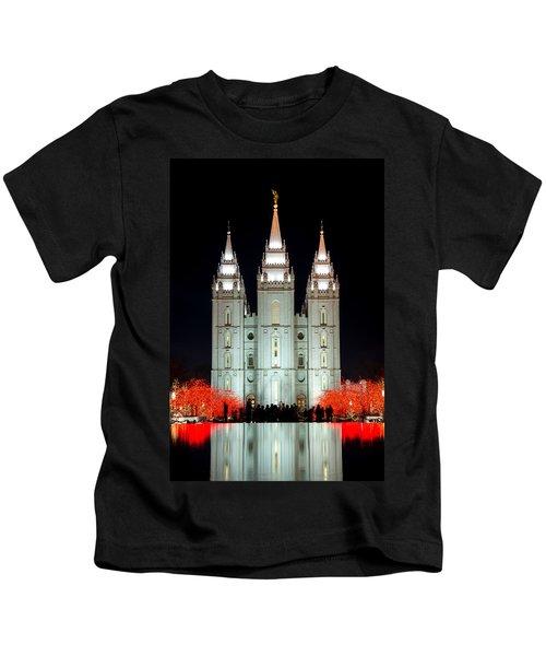 Temple Lights Kids T-Shirt