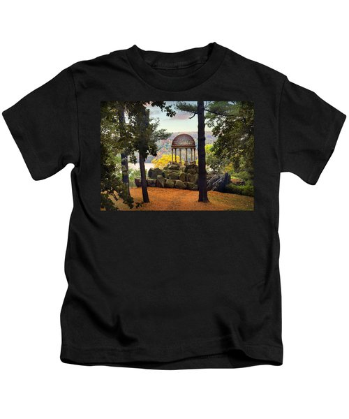 Temple Of Love In Autumn Kids T-Shirt