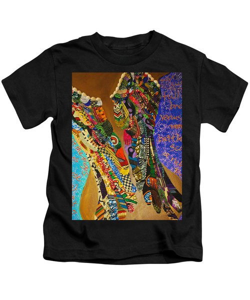 Temple Of The Goddess Eye Vol 1 Kids T-Shirt