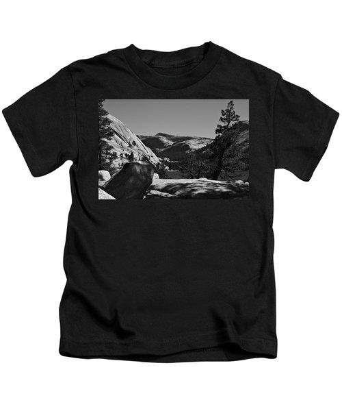 Tenaya Lake In Yosemite Kids T-Shirt