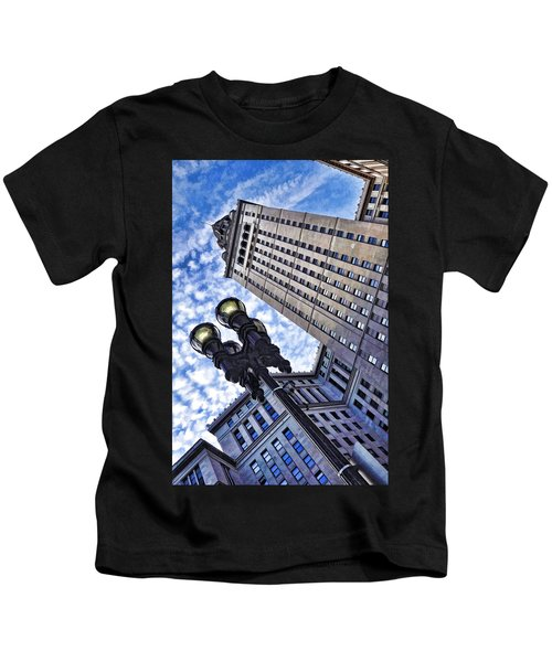 Terminal Tower - Cleveland Ohio - 1 Kids T-Shirt