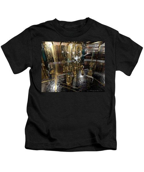 Tesla Power Generator Kids T-Shirt