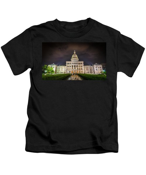 Texas Capitol Building Kids T-Shirt