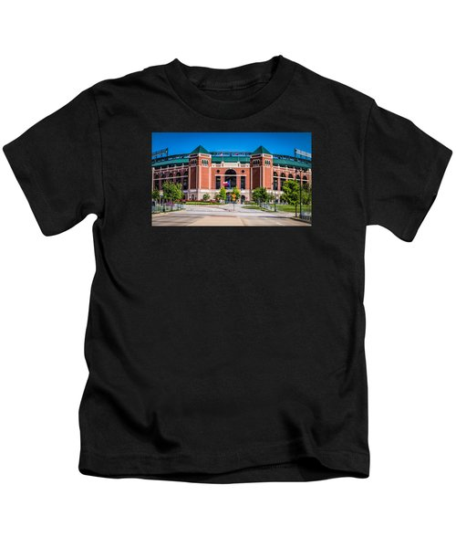 Globe Life Park In Arlington Kids T-Shirt