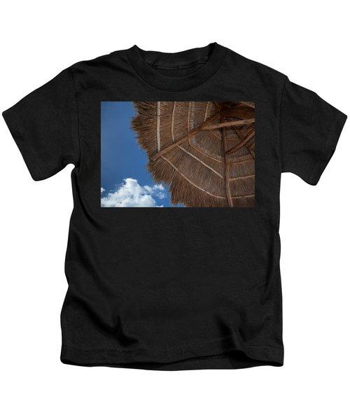 Thatched Umbrella Kids T-Shirt