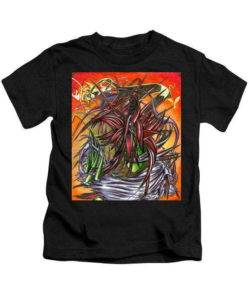 The Abysmal Demon Of Hair Kids T-Shirt