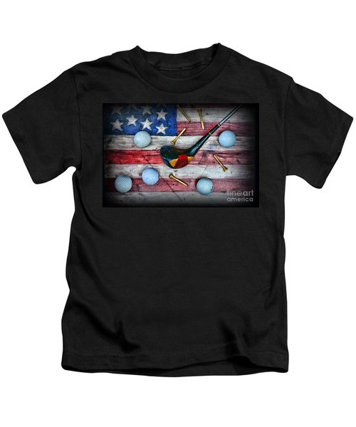 The All American Golfer Kids T-Shirt