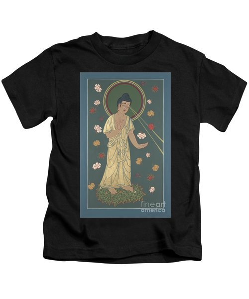 The Amitabha Buddha Descending 247 Kids T-Shirt