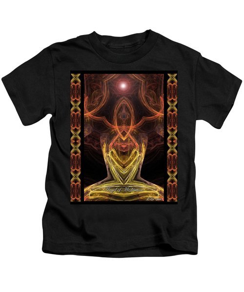 The Angel Of Meditation Kids T-Shirt