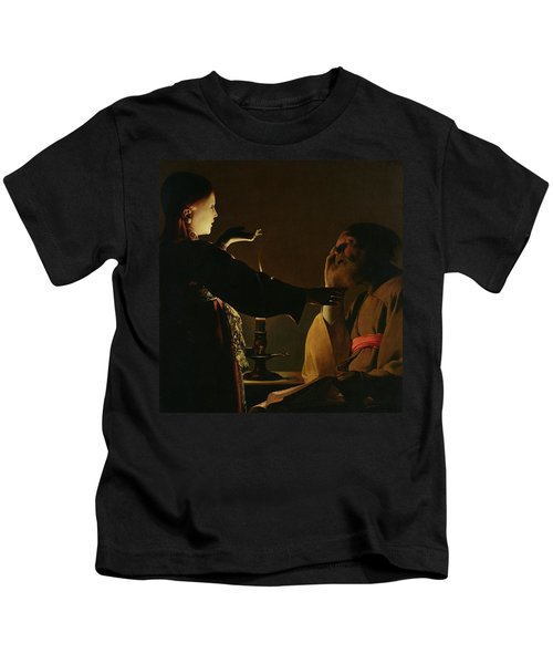 The Appearance Of The Angel To Saint Joseph Kids T-Shirt