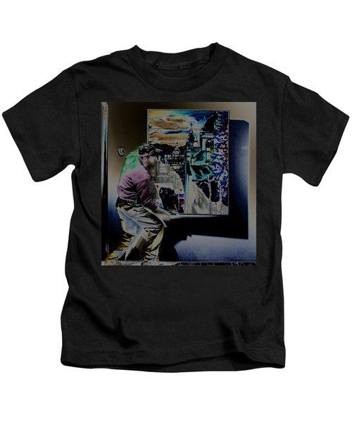 The Artist Paul Emory Kids T-Shirt