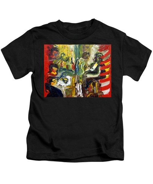 The Barbers Shop - 1 Kids T-Shirt