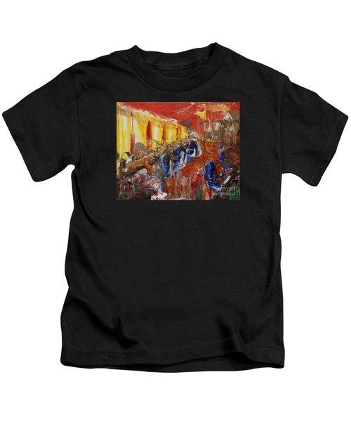 The Barber's Shop - 2 Kids T-Shirt