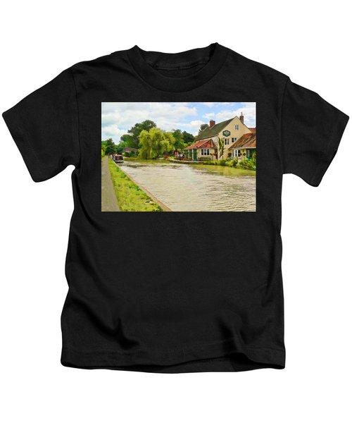 The Barge Inn Seend Kids T-Shirt