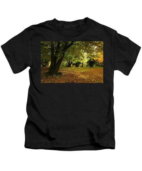 The Beauty Of Autumn Kids T-Shirt
