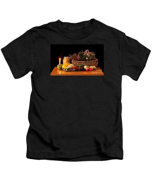 The Beauty Of Fall Kids T-Shirt