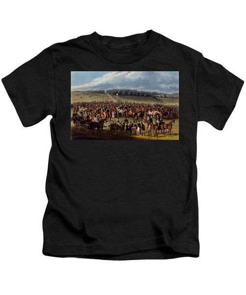 The Betting Post, Print Made By Charles Kids T-Shirt