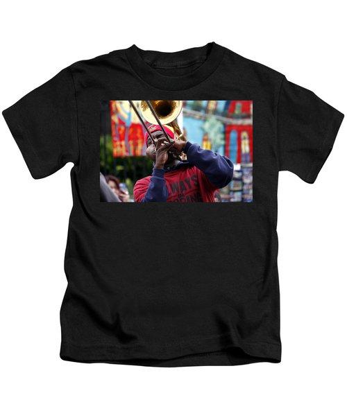 The Breath Of Jazz Kids T-Shirt