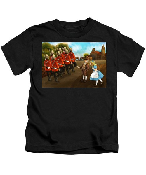 The British Soldiers Kids T-Shirt