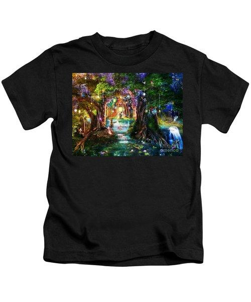 The Butterfly Ball Kids T-Shirt