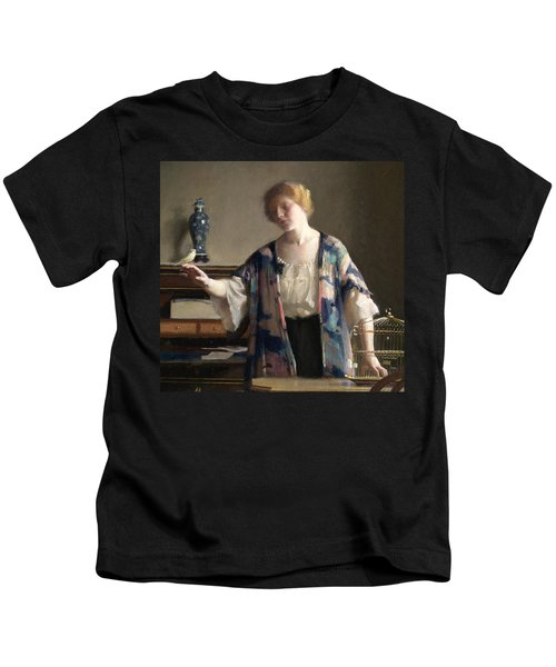 The Canary Kids T-Shirt by William McGregor Paxson