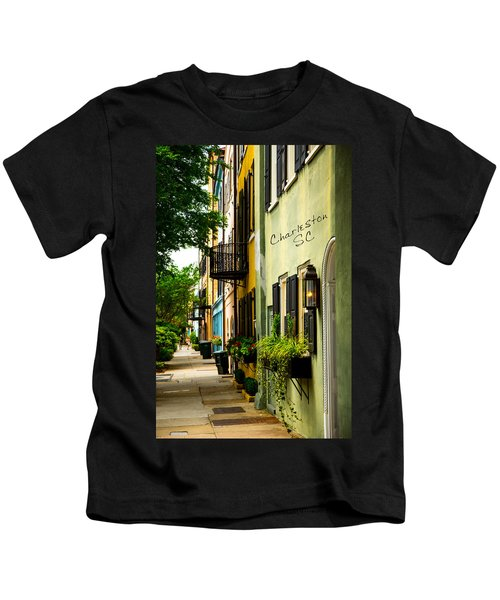 The Charm Of Charleston Kids T-Shirt