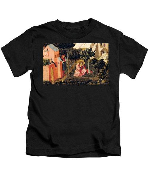 The Conversion Of Saint Augustine Kids T-Shirt