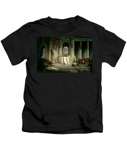 The Death Of Caesar Kids T-Shirt