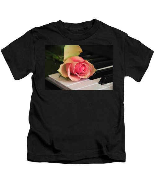 The Delicate Rose Kids T-Shirt
