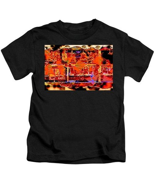 The Destruction Of Pompeii Kids T-Shirt