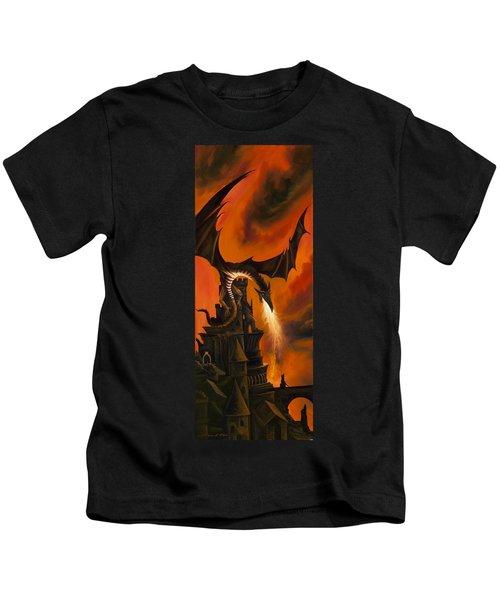 The Dragon's Tower Kids T-Shirt