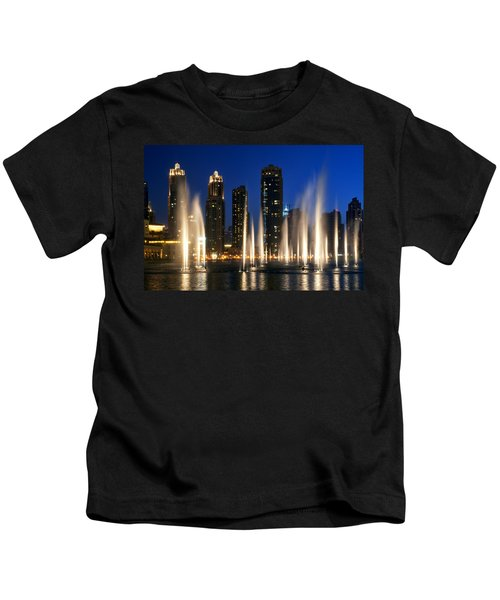The Dubai Fountains Kids T-Shirt