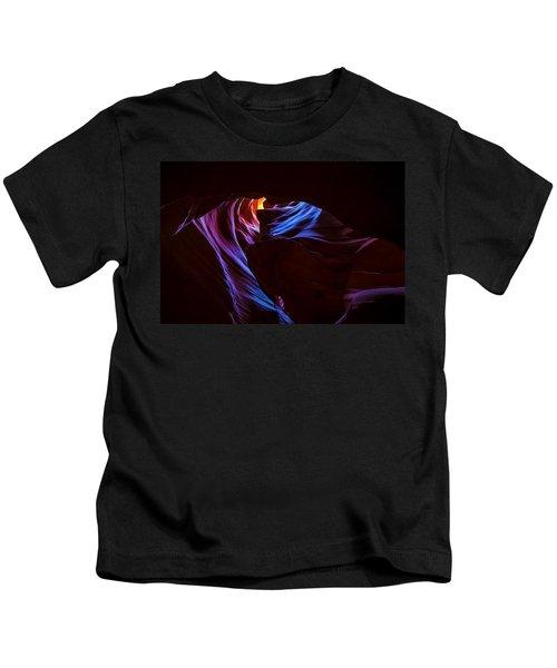 The Edge Of Darkness Kids T-Shirt