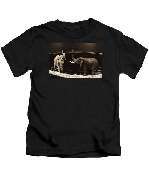 The Elephant Walk Kids T-Shirt
