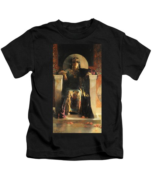 The Empress Theodora Kids T-Shirt
