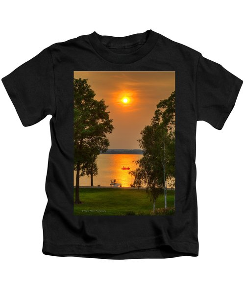 The End Of A Perfect Day Kids T-Shirt