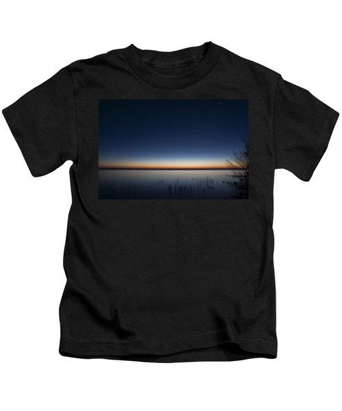 The First Light Of Dawn Kids T-Shirt