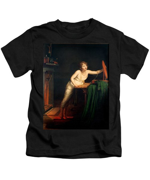 The First Sense Of Coquetry, 1804 Oil On Canvas Kids T-Shirt