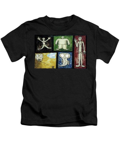 The Gang Of Five Kids T-Shirt