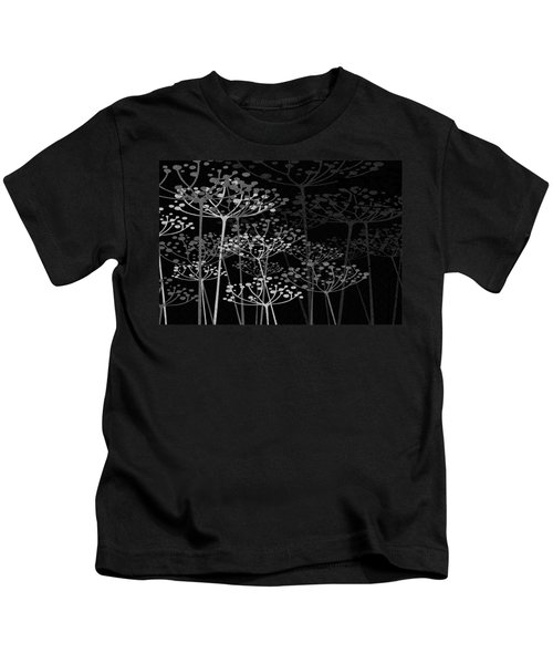 The Garden Of Your Mind Bw Kids T-Shirt