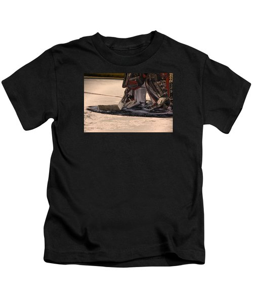 The Goalies Crease Kids T-Shirt