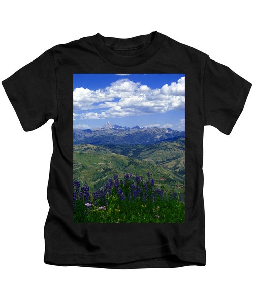 The Grand And Lupines Kids T-Shirt