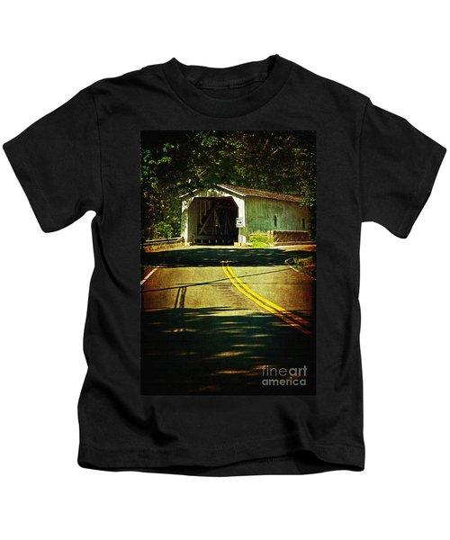 The Green Sergeants Covered Bridge Kids T-Shirt
