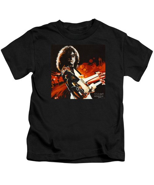 Stairway To Heaven. Jimmy Page  Kids T-Shirt