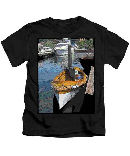 The Little Steamboat That Could Kids T-Shirt