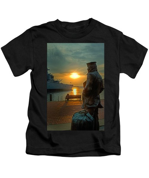 The Lone Sailor Kids T-Shirt