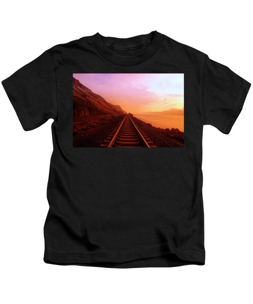 The Long Walk To No Where  Kids T-Shirt