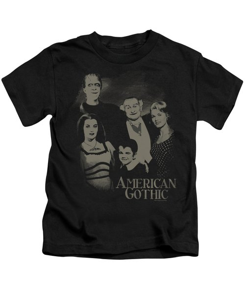 The Munsters - American Gothic Kids T-Shirt