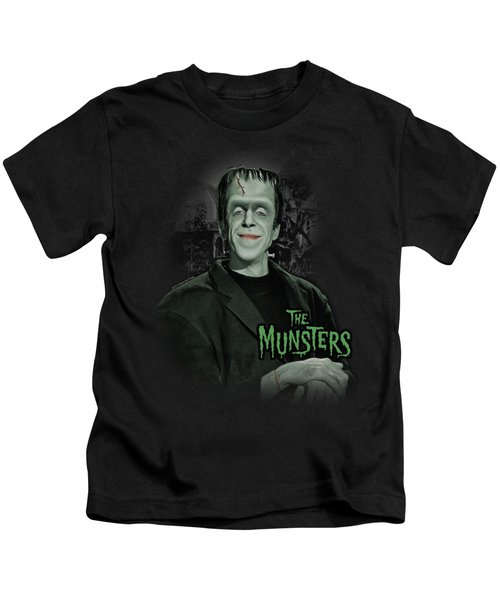 The Munsters - Man Of The House Kids T-Shirt